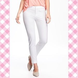 Old Navy Pixie pants in white